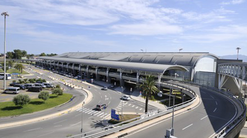 Cagliari ELMAS Airport Air Conditioning System - building