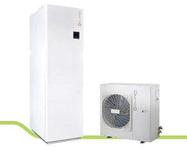 heat pump with boiler